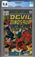 Devil Dinosaur #4 CGC 9.4 NM WHITE PAGES