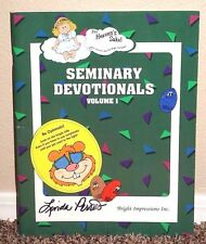 Seminary Devotionals Volume 1 by Bright Impressions 1999 LDS Mormon PB
