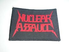 NUCLEAR ASSAULT WOVEN PATCH