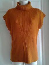 90% Off Elliot Lauren Orange  Sleeveless Turtleneck Size L (Retail $112.00)