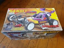 Original 1995 Rc Traxxas Bandit Extreme Sports Buggy 1.10 original box Great Con
