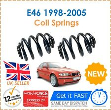 For BMW 3 Series E46 1998-2005 Saloon & Coupe 2 Rear Coil Springs Set Pair New