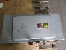 SQUARE D 200 AMP HEAVY DUTY SAFETY SWITCH #3301051J NEW OLD STOCK