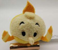 """Disney Store Tsum Tsum Beauty And The Beast Candle Stick LUMIERE Mini 3.5"""" Plush"""