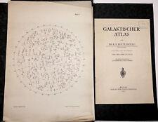 Bottlinger, Kurt Felix.  Galaktischer Atlas. 1937 Sehr selten