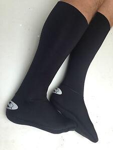 Neoprene Socks Walking WATERPROOF Winter Outdoors Wetsuit Long Knee Length UK
