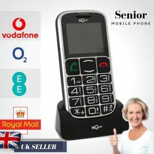 HC Mobi Senior Old People Mobile Phone Big Dial Buttons Help SOS Function Desk