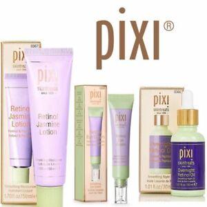 Pixi Retinol Jasmine Lotion, Eye Cream &Overnight Oil Bran New Free UK Delivery
