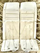 Custom Made In Canada 34+1 Pro Pads One Time On Ice Perfect Condition Sher-Wood
