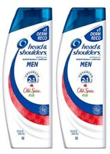 (2) Head and Shoulders Men Old Spice Fiji Advanced 2 in 1 Anti Dandruff Hair Sha