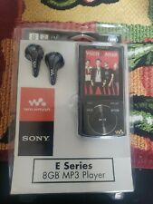 Sony 8 GB E Series Walkman Video MP3 FM Black. NWZ-E344
