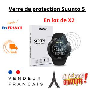 Verre trempé de protection 9H pour Suunto 5 Anti rayures protection d'écran