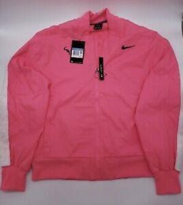 Nike Court Pink Jacket Tennis Rafael Nadal AT4367 679 US Open Champ Medium $150