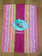 American Girl Coconut doll size beach towel from Seaside Cabana Accessories