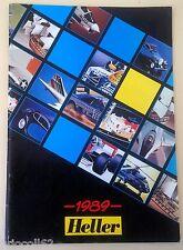 Catalogue Heller 1989 vintage