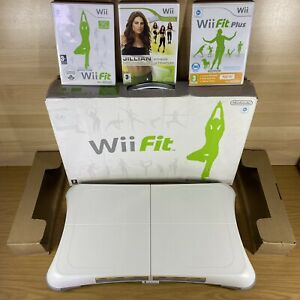 Nintendo Wii Balance Board Boxed +3 Games Fit Plus Jill Michaels Ultimate Fitnes