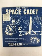 Space Cadet Tom Corbett Viewmaster 970 Reels Sawyers Packet Complete