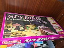 Spy ring The International spy game by Waddingtons 1986 edition complete 99p see