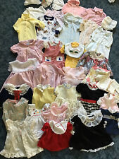 Lot of 35 Vintage Children's Clothes Dress Hat One Piece Knit Sweater .