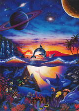 POSTER :FANTASY : SEALIFE & PLANETS  - FREE SHIPPING ! #PP7011 RC9 L