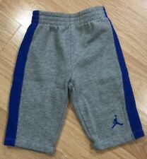 Baby JORDAN Pants Size 6-9 Months Gray And Blue