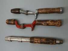 New listing Vintage Fishing Pole Grips Handles Richardson 3 Piece Lot