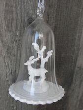 Christbaumschmuck aus Porzellan mit Glocke