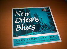 """CHRIS BARBERS JAZZ BAND  """"NEW ORLEANS BLUES"""" EP 7 INCH PICTURE SLEEVE"""