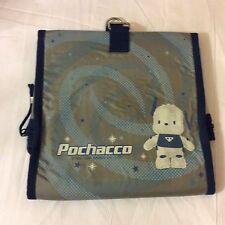 vintage sanrio pochacco 2000 makeup cosmetic bag no strap rare
