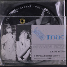 "MADONNA: A Rare Interview With 45 (UK, 4 x 7"" pic discs, PVC hanging folder)"