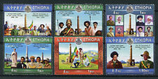 Ethiopia 2016 MNH Patriots Victory 75th Ann 6v Set Monuments Military War Stamps