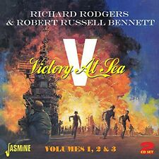 Richard Rodgers & Robert Russell Bennett - Victory at Sea 1 2 3 [New CD] UK - Im