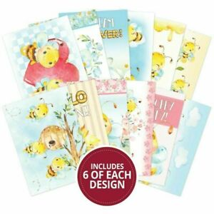 Crafting With Hunkydory - Just bee-cause 72 sheets bite size book