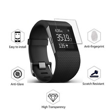 4x HD Full Screen Protector for Fitbit Surge - High Quality Scratch Resistant a1