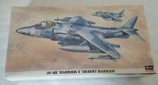 HASEGAWA 1:48 AV-8B HARRIER II DESERT # 09538 USMC VMA-231 Desert Storm