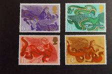 GB MNH STAMP SET 1975 Christmas Angels SG 993-996 UMM