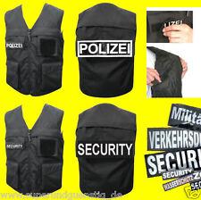 COP Polizei Security Swat SEK Einsatz Weste Dienstweste Jacke Bekleidung AUSWAHL