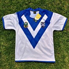 NRL Premiership CANTERBURY BULLDOGS Supporter Rugby Home Jersey Size Medium NEW