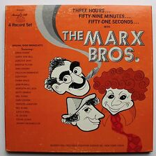 The Marx Brothers Groucho Marx 4 LP Box Set 1974