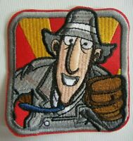 Inspector Gadget Embroidered Patch -new
