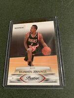 2009 Prestige Brandon Jennings Rookie #210