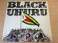 EX-/EX !! Black Uhuru/Self Titled/1980 Virgin Mono LP/Reggae