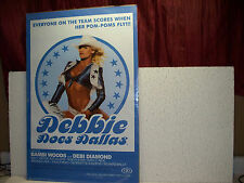 Debbie Does Dallas Poster 24 X 36 Out of Print Hot Babes Boobs Buns Bambi Woods