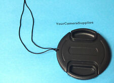 LENS CAP +HOLDER/KEEPER TO> CAMERA PANASONIC LUMIX DMC-FZ45 DMC-FZ45K FZ 45