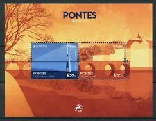 Portugal 2018 MNH Bridges Europa Vasco da Gama Bridge 2v M/S Architecture Stamps