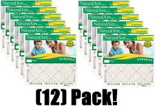 "(12) Naturalaire 84858.011620 16"" X 20"" X 1"" Furnace Air Filters"