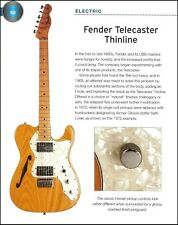 Fender Telecaster Thinline guitar + Fretless Precision Bass 6 x 8 pin-up article