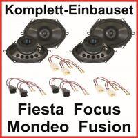 Lautsprecher Ford Fiesta Focus Mondeo Fusion Hifonics TS-572 vorne und hinten