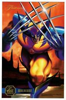 1995 Marvel Flair Annual FlairPrints Flair Prints Wolverine Oversize Card