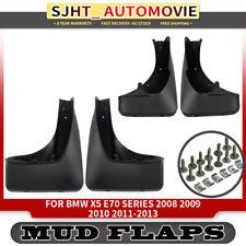 4x Splash Guard Mud Flaps Mudflaps for BMW X5 E70 2007-2013 Front&Rear